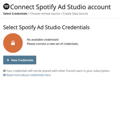 connect spotify ad studio account