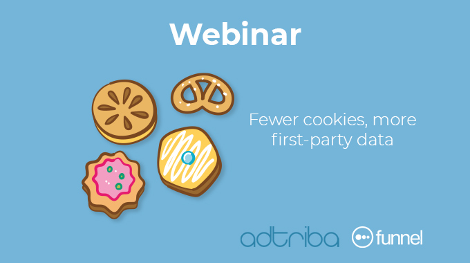 fewer third-party cookies, more first-party data