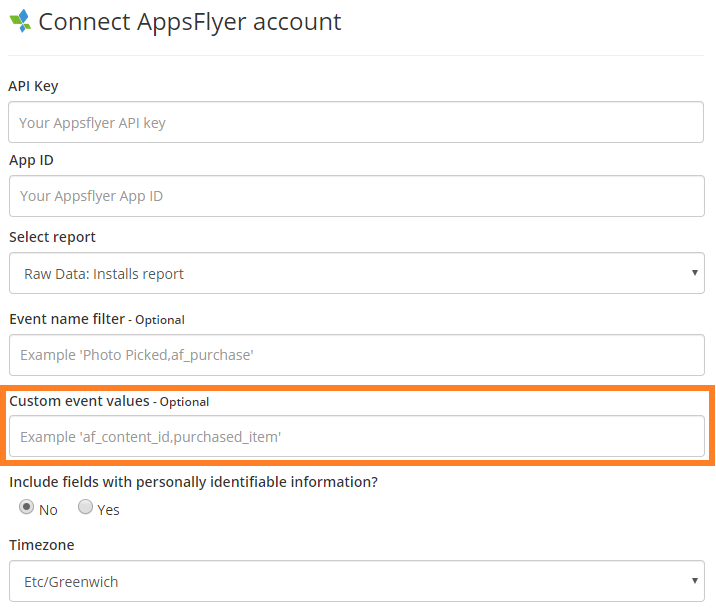 appsflyer-connect