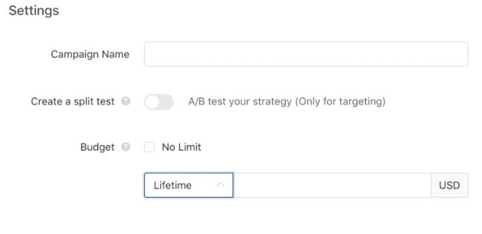 tiktok-campaign-settings