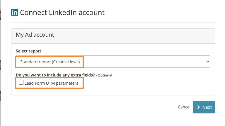 Configure LinkedIn ads